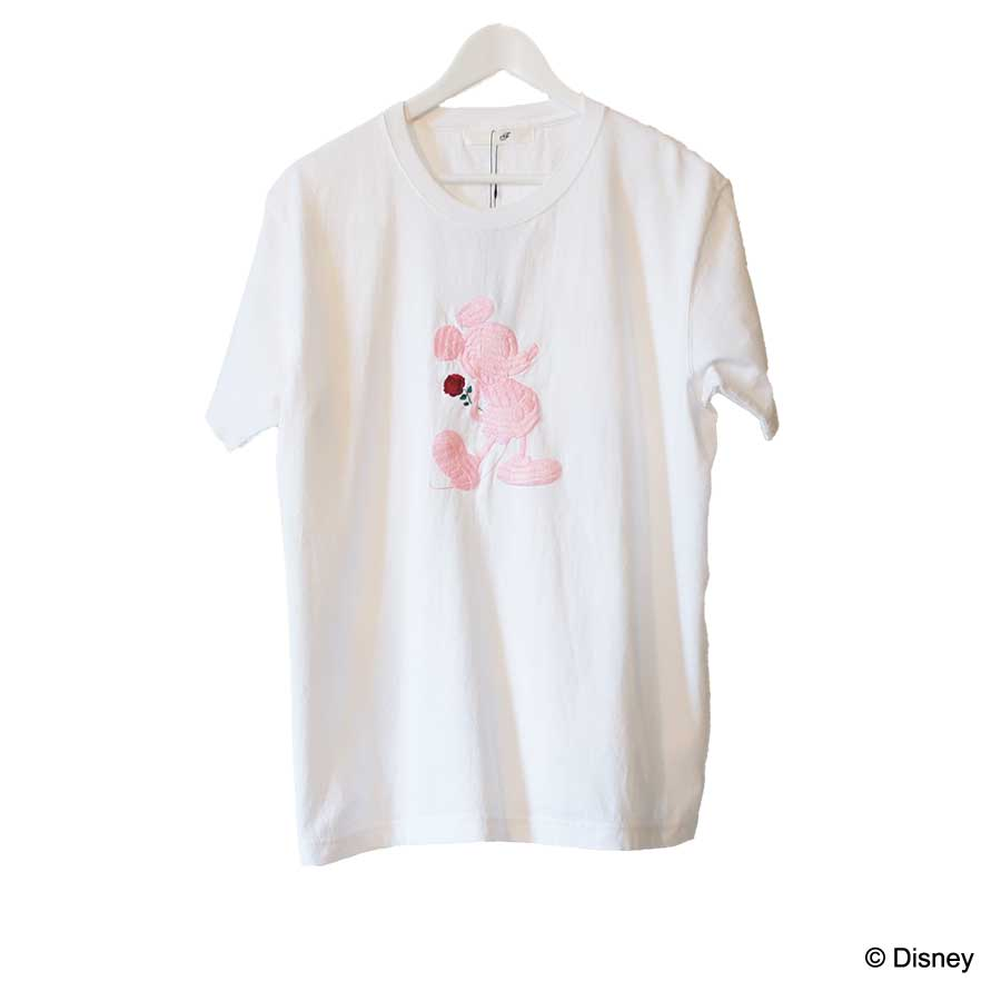 HAND EMBROIDERY MICKEY S/S TEE