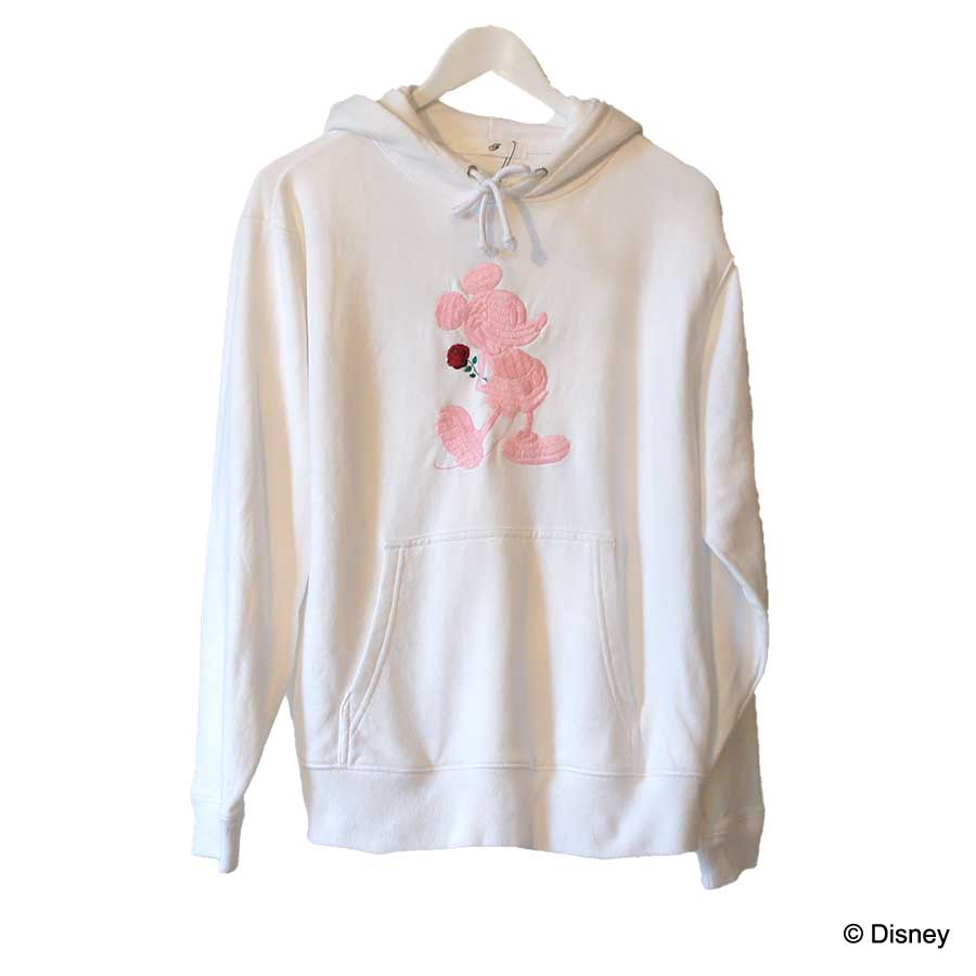 HAND EMBROIDERY MICKEY HOODIE