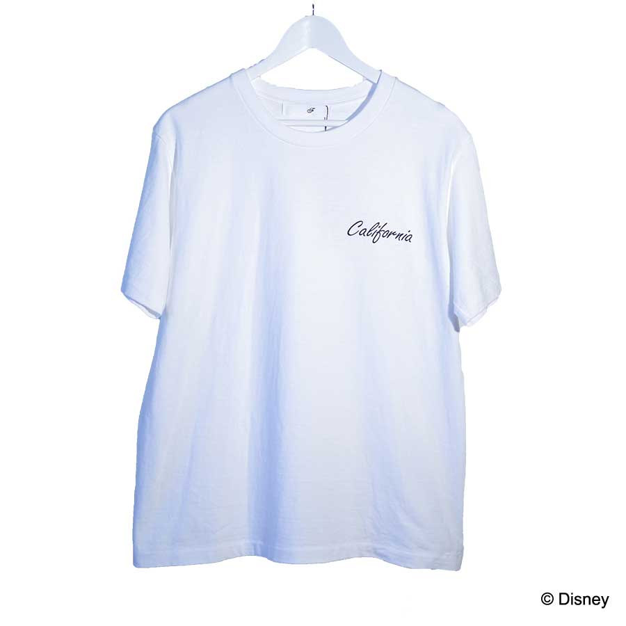 CALIFORNIA MICKEY BACKPRINT TEE