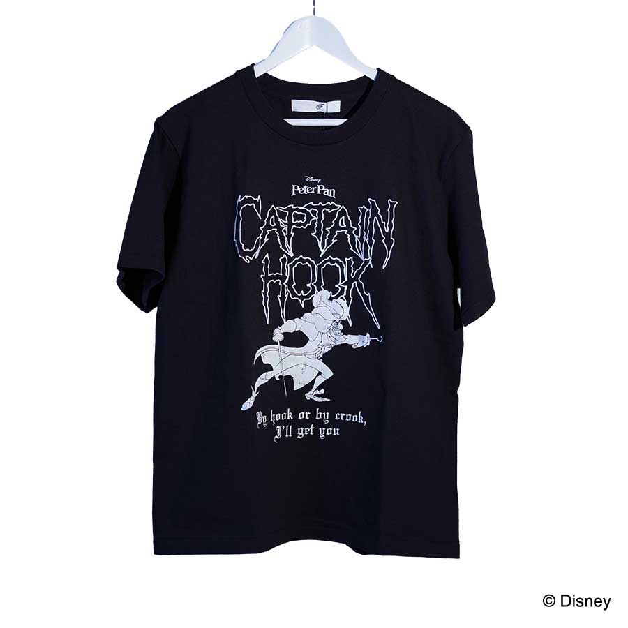 CAPTAIN HOOK BLACK SERIES TEE